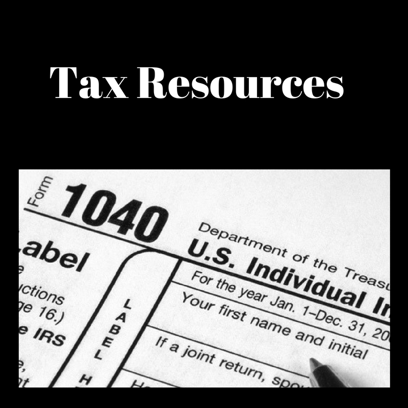 Tax Resources with tax forms